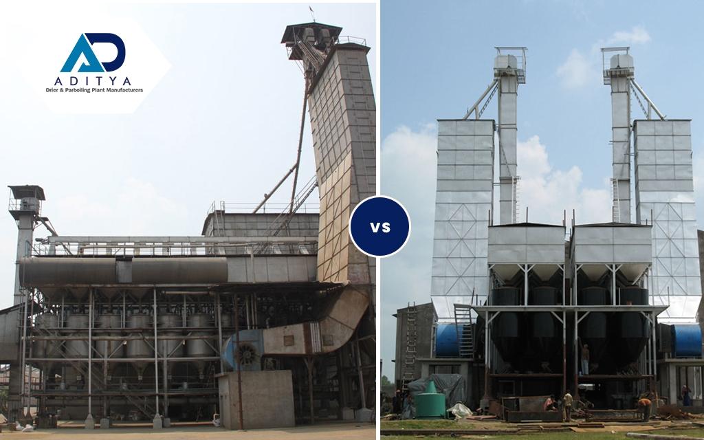 High capacity 80 ton Higher Capacity Driers Vs. Two 40 Ton capacity