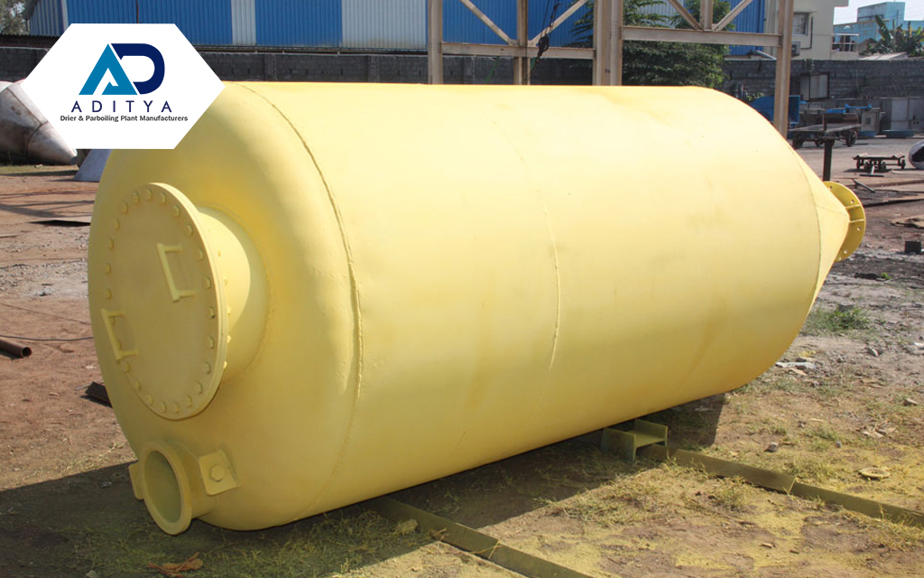 Paraboiling equipment